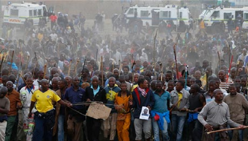 Marikana march