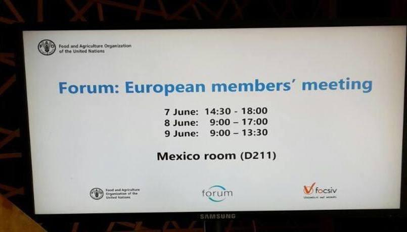forum eu meeting