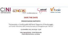 evento 23 novembre Concord Italia