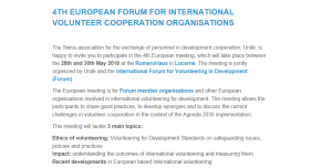 Programma Forum EU members meeting - Lucerna
