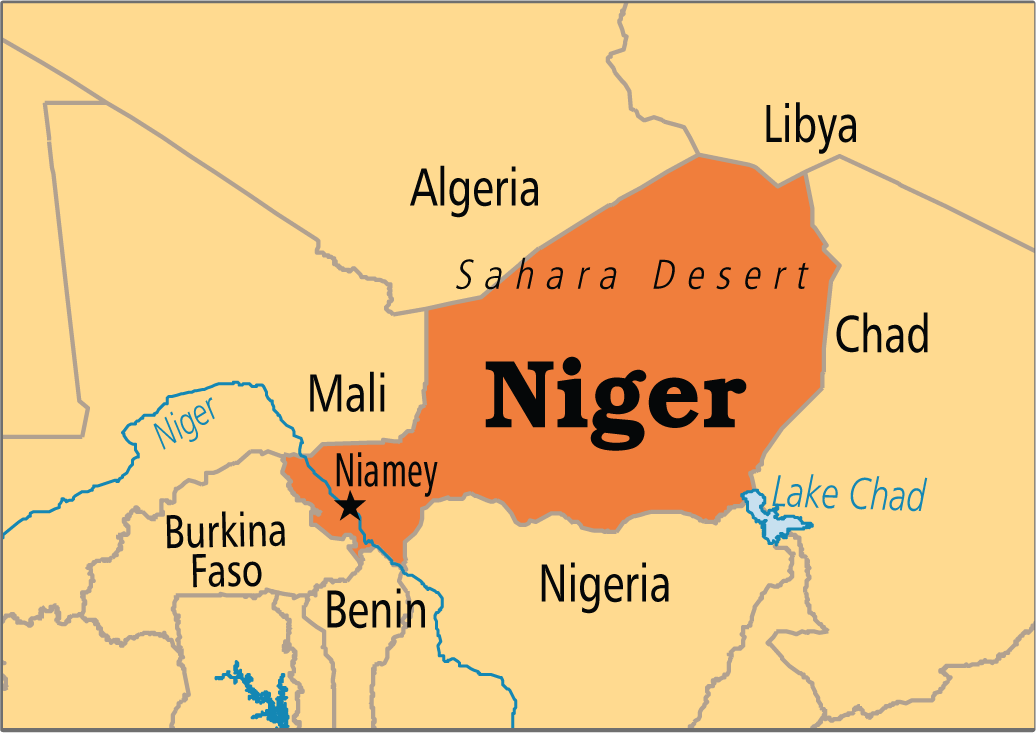 niger cartina