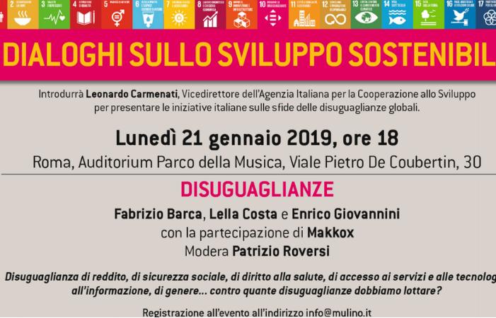 dialoghi sviluppo sostenibile disuguaglianze