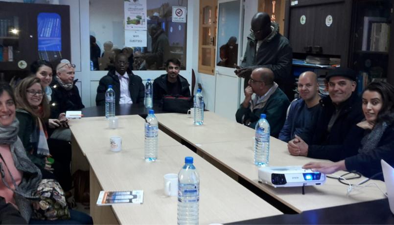 riunione tero tunisia focsiv