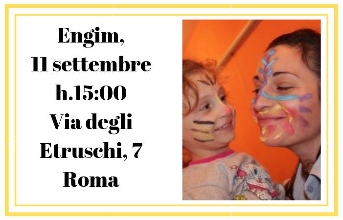 Engim, 11 settembre h.15_00 Via degli Etruschi, 7 Roma