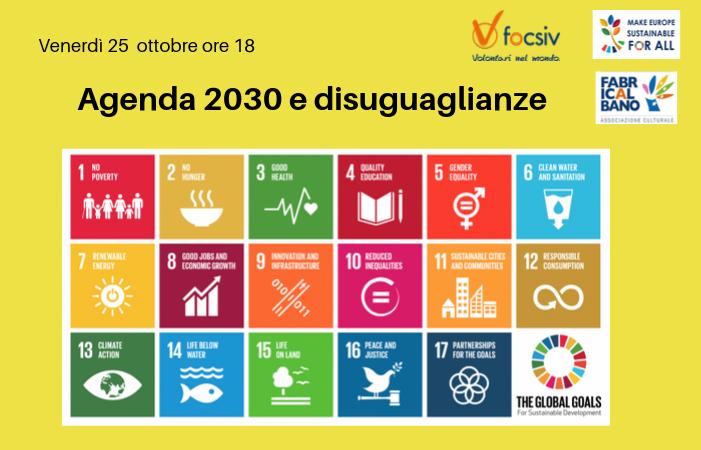 Agenda 2030 e disuguaglianze