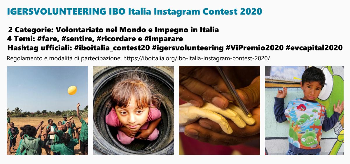 IGERSVOLUNTEERING IBO Italia Instagram Contest 2020